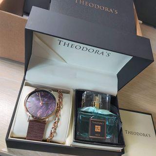 「可換物」Theodora希奧朵拉 香水手錶組 配件齊全 五折出售