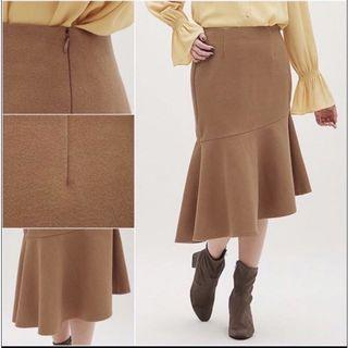 UNIQLO long skirt brown NEW