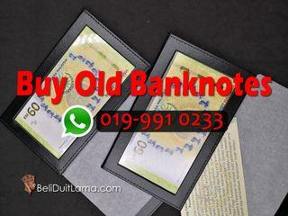 We Buy Malaysia Old Banknotes (face-to-face Only)