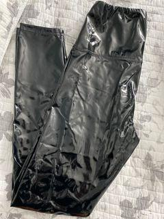 WILFRED FREE faux leather tights