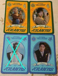 [WTS] Voyage card/pcs ( Onew + Minho )