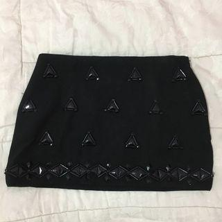 ZARA Women Mini Skirt Rok Hitam