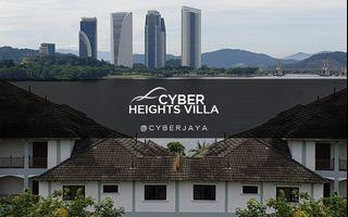 [20%OFF] 3+2room CORNER @CYBER Heights Villa ONLY RM513,000 (Market price RM630,000)
