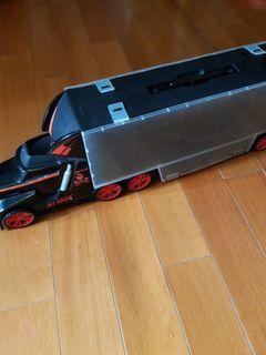 超大超長玩具車可放25部小車加28部車仔all40元