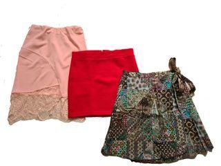 3 pcs skirt