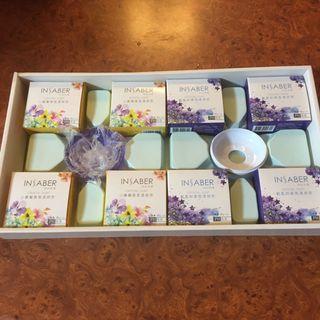 (全新)肥皂8顆+皂盒