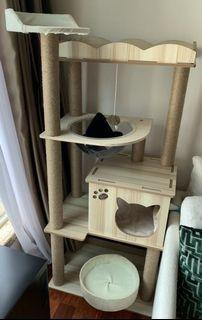 豪華貓貓爬架