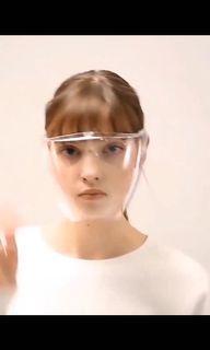 戴眼鏡也可以正常使用 ✨太空面罩 PC高清防霧透明頭戴式面屏防飛沫飛濺防護防疫面罩Face Shield