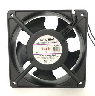 ✯台灣三巨電機✯ SJ1238 4吋風扇 12公分 散熱風扇 排風扇 通風扇 抽風扇 排煙風機 風扇 百葉 鐵網