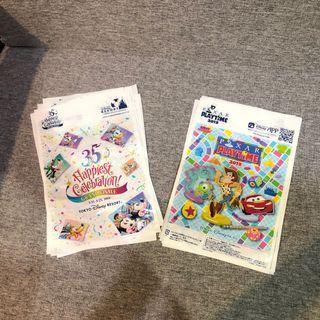 全新 TOKYO 迪士尼 2019 提袋 尺寸15.2*23.2