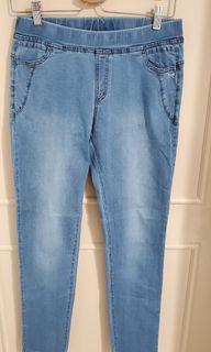 b.club彈性牛仔褲(L號)