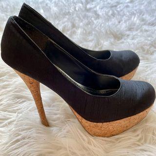 black platform heels (size 6.5)!