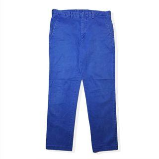 Blue work japan natural hand dyed trouser