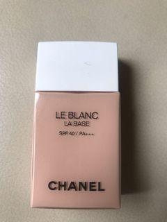 Chanel La Base Le Blanc