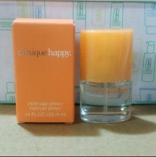 Clinique happy 香水4ml