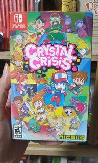 Crystal Crisis Launch Edition Nintendo Switch Game