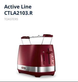 De'Longhi Active Line Toaster (Red)