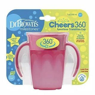 Dr browns cheers 360 cup