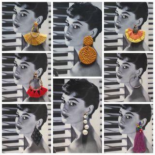 Earrings (H&M, Forever21, Bershka,Mango)