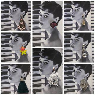 Earrings (H&M,Forever 21, Bershka,Mango,Aldo)