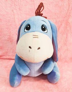 小熊維尼-屹耳(Eeyore)驢子可愛玩偶❤