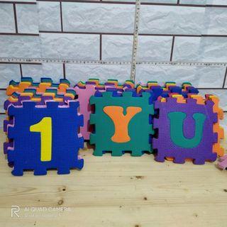 Evamat alphabet dan angka