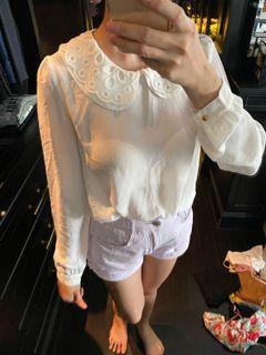 Forever 21 white long sleeve