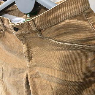 Galoop燈芯龍長褲,9成新