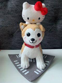 Hello Kitty X Hachiko Plush