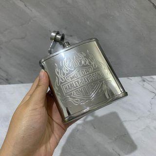 HIP FLASK botol minuman saku stainless steel pocket bottle harley
