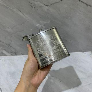 HIP FLASK botol minuman saku stainless steel pocket bottle daniels