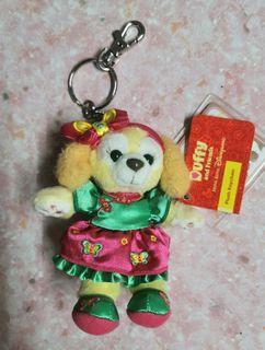 Hkdl 香港迪士尼 duffy&friends cookie ann 曲奇 新年 吊飾