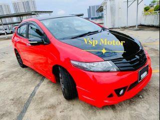 Honda City 1.5 At- mugen red