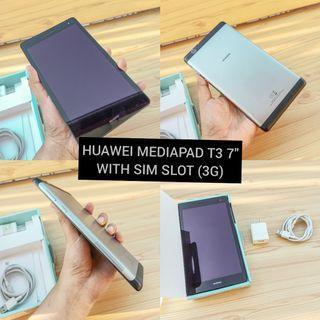 Huawei Mediapad T3 with sim slot (3g)
