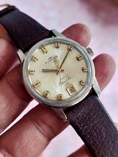 Jam Tangan Fortis Eden Rock Manual Winding Swiss Vintage Tanggal Bawah