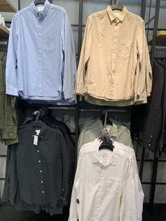 Jastip H&M Kemeja Pria Regular Fit Linen-blend Shirt