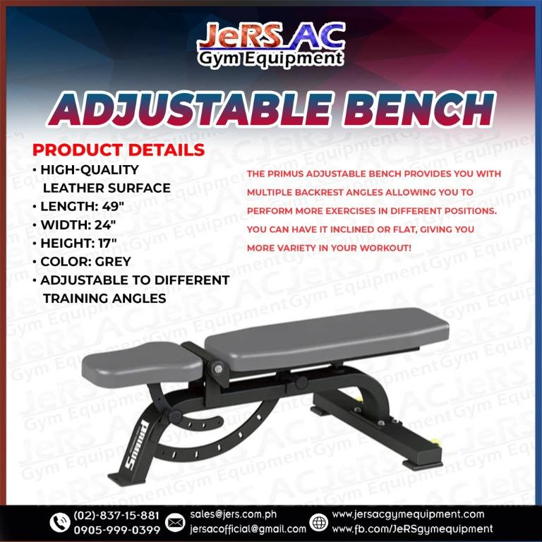 JeRS AC Home and Gym Equipment, Sports Equipment, Other Sports Equipment  and Supplies on Carousell
