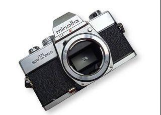 KAMERA ANALOG MINOLTA SRT200 + MC 1:4.5 80-200mm