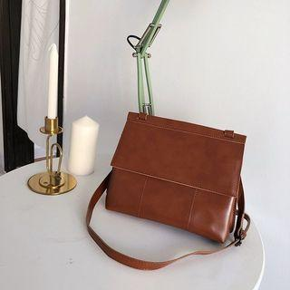 Korean Brown Shoulder Bag