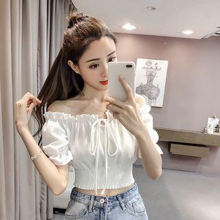 Korean Sabrina Blouse (Size XS-XL)