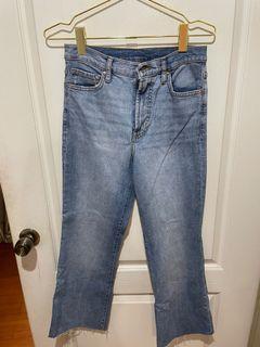 Mango寬口牛仔褲