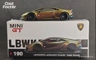Mini GT #190 LB Works Lamborghini Huracán - Magic Bronze