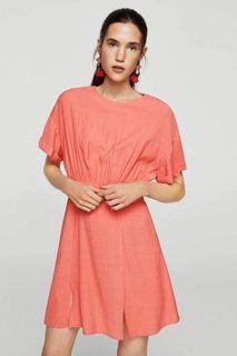 New !! Mango Ruched details Mini Dress