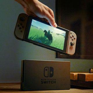 Nintendo Switch Gen 2 Grey + Dock Set