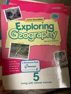 Oxford Junior Secondary Exploring Geography 5  and workbook