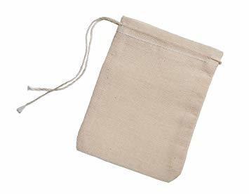 Reusable Cotton Bags for Tea & Bath