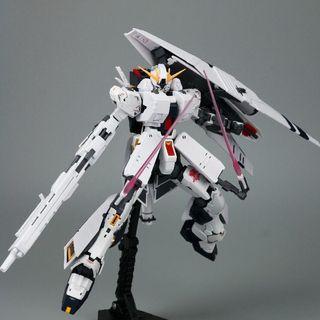 RG Nu Gundam HWS Fighter Transport System Expansion Set by Effect Wings 1/144