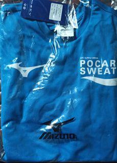 runner jersey 寶礦力水特 Pocari Sweat X Mizuno  運動衣 跑衣 跑衫 tee t-shirt 運動衫 日本運動品牌美津濃
