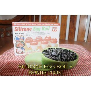 Silicone Egg Boil NEW