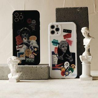Softcase Fullcover Anticrack - For iPhone 6 7 8 6+ 7+ 8+ X XR XSMAX 11 12 PROMAX